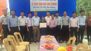Công ty Xi măng Long Sơn – Trao tặng Nhà tình nghĩa tại Thái Bình.
