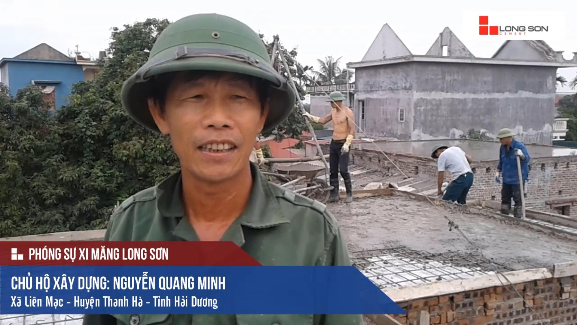 Phóng sự công trình sử dụng Xi măng Long Sơn tại Hải Dương 14.07.2018