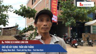 Phóng sự công trình sử dụng Xi măng Long Sơn tại Bình Định 15.07.2018