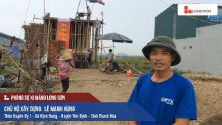 Phóng sự công trình sử dụng Xi măng Long Sơn tại Thanh Hóa 10.07.2018