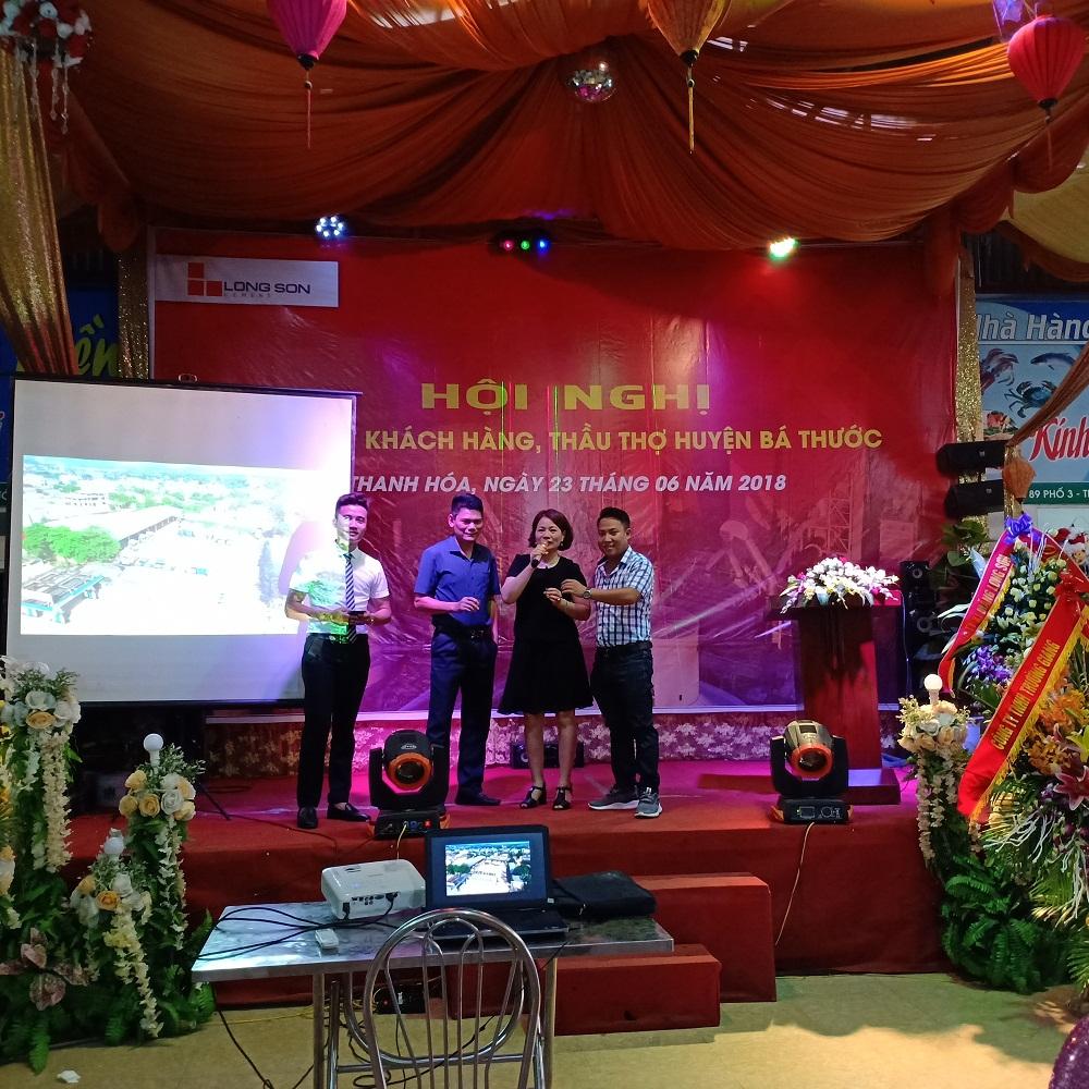 Công ty Xi măng Long Sơn – Tổ chức chương trình Hội nghị Nhà thầu xây dựng tháng 6.