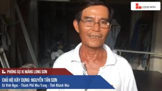 Phóng sự công trình sử dụng Xi măng Long Sơn tại TP Nha Trang, Khánh Hòa ngày 23.07.2018