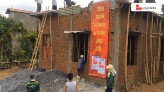 Phóng sự công trình đổ mái, dầm, cột sử dụng Xi măng Long Sơn tại Thanh Hóa 14.07.2018