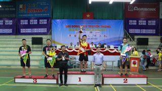 Xi măng Long Sơn đoạt thành tích xuất sắc tại Giải bóng bàn truyền thống tranh Cup VTV8.