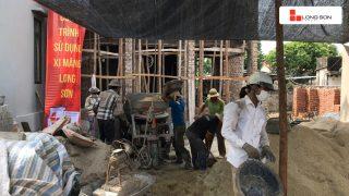 Phóng sự công trình sử dụng Xi măng Long Sơn tại Hưng Yên ngày 09.08.2018