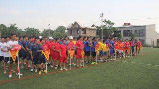 """Tưng bừng khai mạc """"Đại hội thể thao"""" kỉ niệm 17 năm ngày thành lập Công ty Long Sơn."""