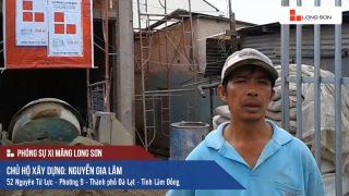 Phóng sự công trình sử dụng Xi măng Long Sơn tại Lâm Đồng 08.08.2018