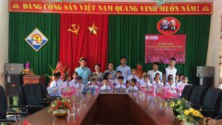 """Xi măng Long Sơn – Khởi động chương trình """"Cặp sách cùng em tới trường"""""""