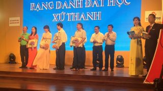 Công ty Xi măng Long Sơn – Đồng hành cùng đất học Xứ Thanh.