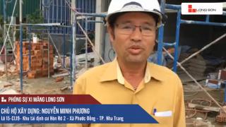 Phóng sự công trình sử dụng Xi măng Long Sơn tại Nha Trang ngày 23.09.2018