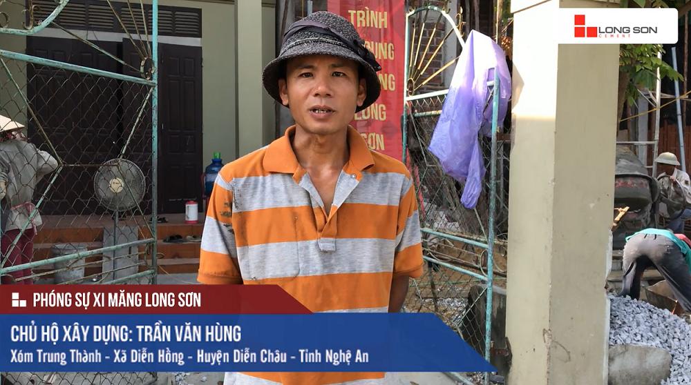 Phóng sự công trình sử dụng Xi măng Long Sơn tại Nghệ An 23.09.2018