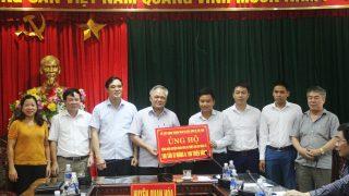 Xi măng Long Sơn – Hỗ trợ thiệt hại mưa lũ địa bàn Quan Hóa – Mường Lát