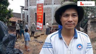Phóng sự công trình sử dụng Xi măng Long Sơn tại Bắc Giang ngày 10.11.2018
