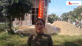 Phóng sự công trình sử dụng Xi măng Long Sơn tại Hà Tĩnh ngày 07.11.2018