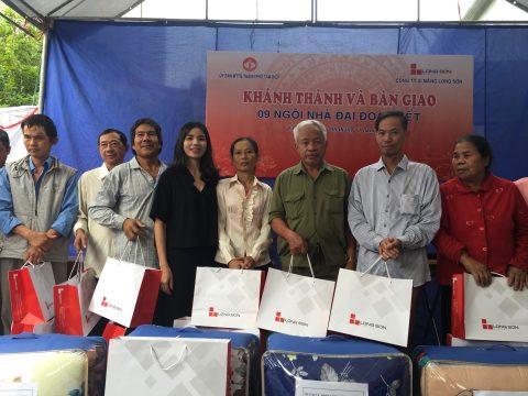 Công ty Xi măng Long Sơn – Chung tay dựng xây mái ấm tình thương.