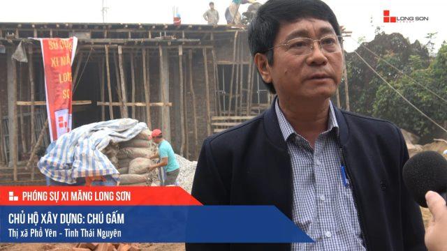 Phóng sự công trình sử dụng Xi măng Long Sơn tại Thái Nguyên 14.01.2018