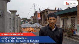 Phóng sự công trình sử dụng Xi măng Long Sơn tại Ninh Bình 24.03.2019