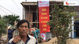 Phóng sự công trình sử dụng Xi măng Long Sơn tại Quảng Nam 12.03.2019