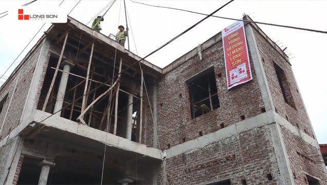 Phóng sự công trình sử dụng Xi măng Long Sơn tại Hà Nội 23.04.2019