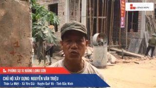 Phóng sự công trình sử dụng Xi măng Long Sơn tại Bắc Ninh 23.04.2019