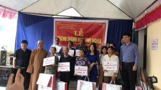 Xi măng Long Sơn – Trao tặng 14 ngôi nhà tình nghĩa tại Yên Mô, Ninh Bình.