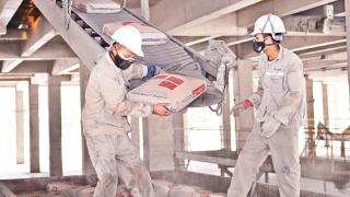 Công ty Xi măng Long Sơn góp phần tạo nên cụm công nghiệp Xi măng lớn nhất cả nước