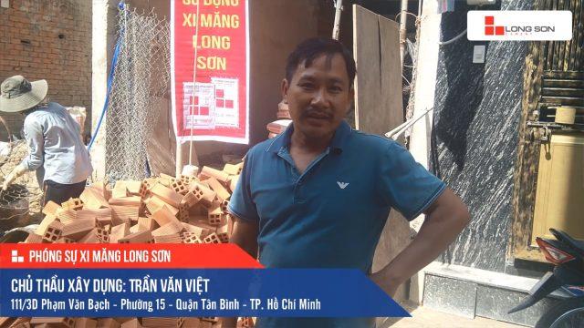 Phóng sự công trình sử dụng Xi măng Long Sơn tại TP. Hồ Chí Minh 13.07.2019