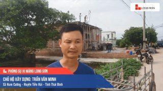 Phóng sự công trình sử dụng Xi măng Long Sơn tại Thái Bình 14.07.2019