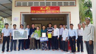 Xi măng Long Sơn – Trao tặng nhà tình thương cho bà con miền Tây Nam Bộ.