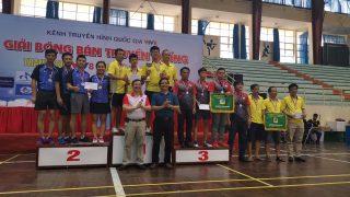 Công ty Xi măng Long Sơn xuất sắc giành giải Nhì Đồng đội – Giải Bóng bàn tranh cúp VTV8 lần thứ 4 năm 2019