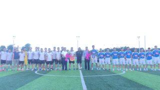 Xi măng Long Sơn – giao hữu bóng đá với NPP Thoa Diêm tỉnh Thái Bình