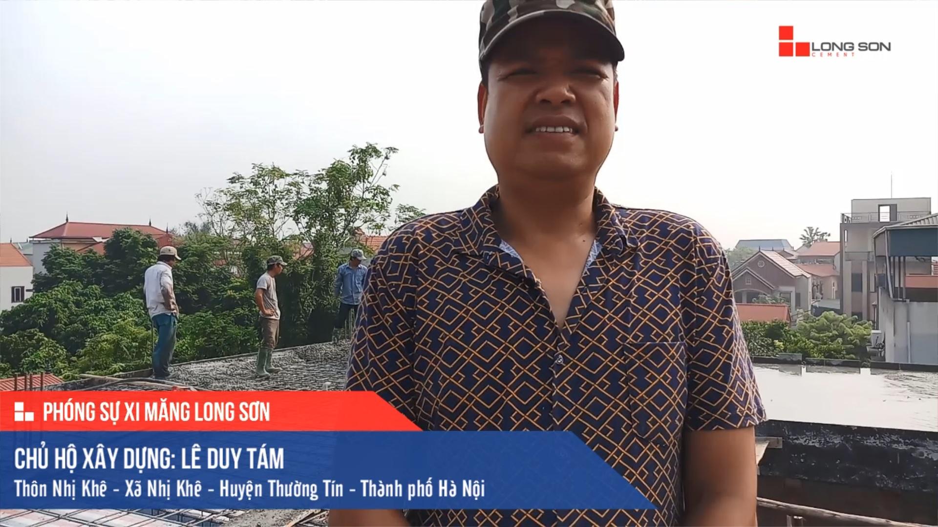 Phóng sự công trình sử dụng Xi măng Long Sơn tại Hà Nội 16.09.2019