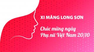 Xi măng Long Sơn – Chúc mừng ngày Phụ nữ Việt Nam 20/10.