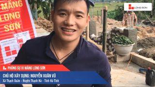 Phóng sự công trình sử dụng Xi măng Long Sơn tại Hà Tĩnh 18.11.2019