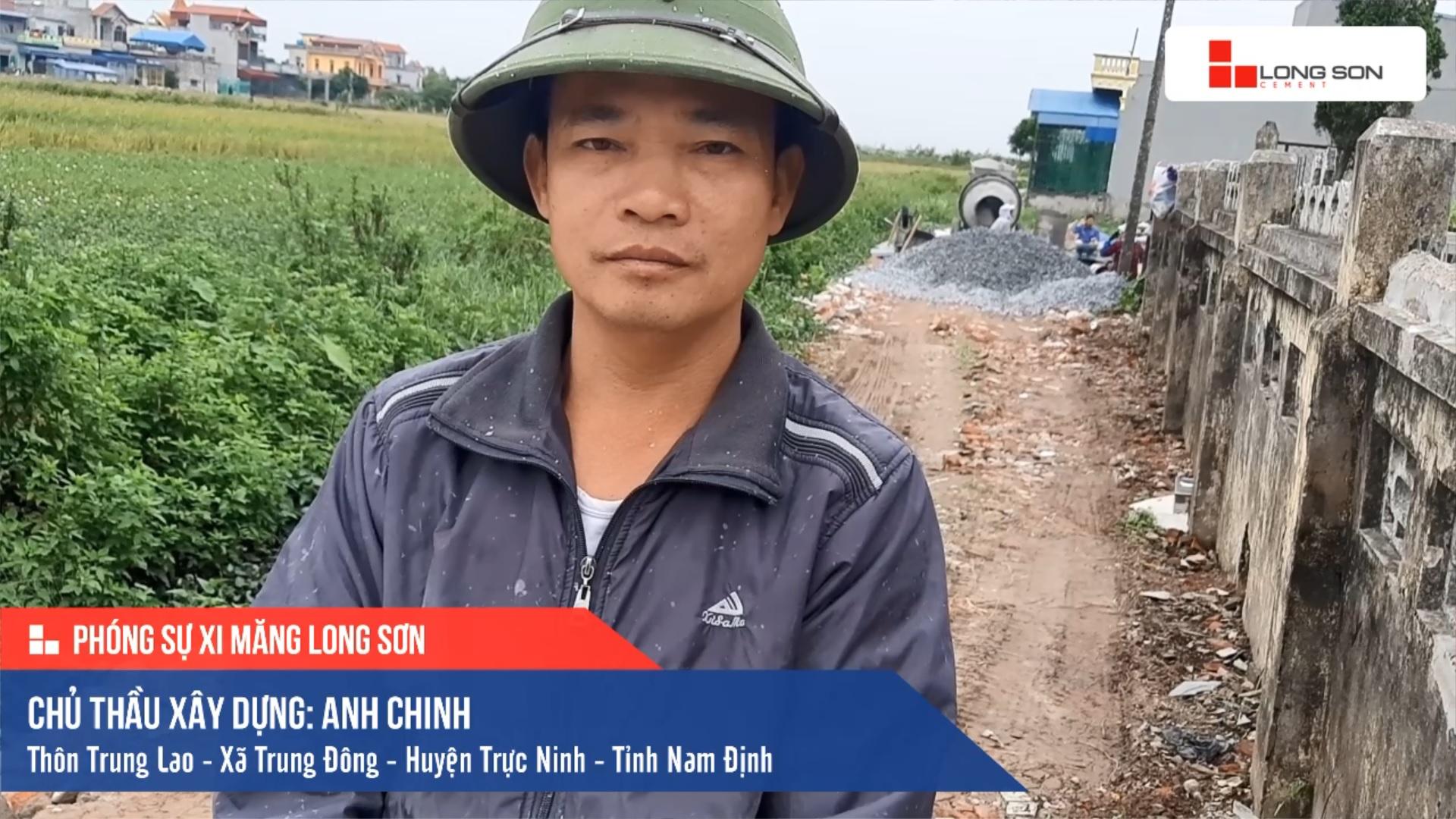 Phóng sự công trình sử dụng Xi măng Long Sơn tại Nam Định 19.11.2019