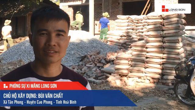 Phóng sự công trình sử dụng Xi măng Long Sơn tại Hòa Bình 05.12.2019