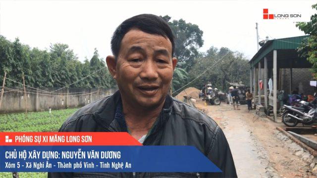 Phóng sự công trình sử dụng Xi măng Long Sơn tại Nghệ An 05.12.2019