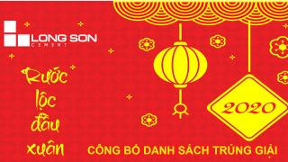 """Công bố danh sách trúng giải chương trình """"Rước lộc đầu xuân"""" 2020 cùng Xi Măng Long Sơn"""
