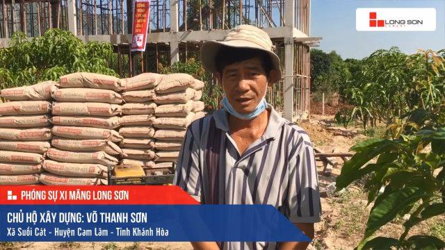 Phóng sự công trình sử dụng Xi măng Long Sơn tại Khánh Hòa 09.01.2020