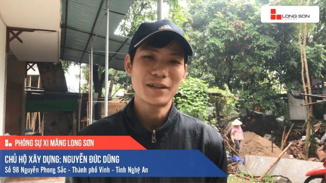 Phóng sự công trình sử dụng Xi măng Long Sơn tại Nghệ An 09.01.2020