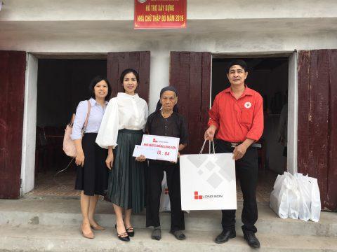 Xi măng Long Sơn gấp rút hoàn thành bàn giao các ngôi nhà tình thương cho bà con đón tết Xuân Canh Tý 2020