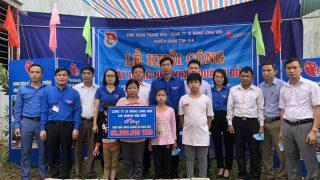 Công ty Xi măng Long Sơn tài trợ xây dựng nhà Khăn quàng đỏ cho các gia đình có hoàn cảnh khó khăn tại tỉnh Thanh Hóa