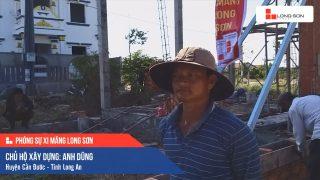 Phóng sự Công trình sử dụng Xi măng Long Sơn tại Long An 12.03.2020