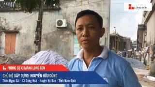 Phóng sự Công trình sử dụng Xi măng Long Sơn tại Nam Định 25.03.2020
