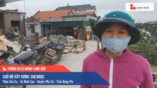 Phóng sự Công trình sử dụng Xi măng Long Sơn tại Hưng Yên 24.04.2020