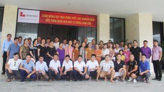 Chào mừng Quý Khách hàng tỉnh Hòa Bình về tham quan Công ty Xi măng Long Sơn.