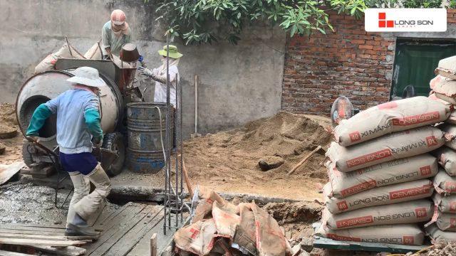 Phóng sự công trình sử dụng Xi măng Long Sơn tại Bắc Ninh 09.07.2020