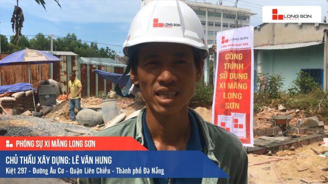 Phóng sự công trình sử dụng Xi măng Long Sơn tại Đà Nẵng 08.07.2020