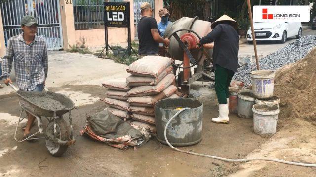 Phóng sự công trình sử dụng Xi măng Long Sơn tại Đà Nẵng 07.07.2020