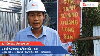 Phóng sự công trình sử dụng Xi măng Long Sơn tại Vĩnh Long 09.07.2020